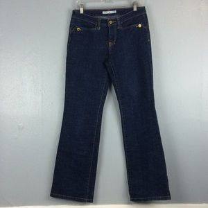 Tommy Hilfiger Ladies Dark Cotton Blend Jeans Sz 6